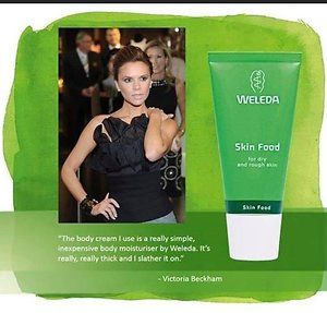Weleda Wellbeing Advisor. VictoriaBeckham Skin Food